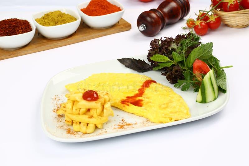 Download Omelett stockbild. Bild von italienisch, kräuter, gefüllt - 96927737