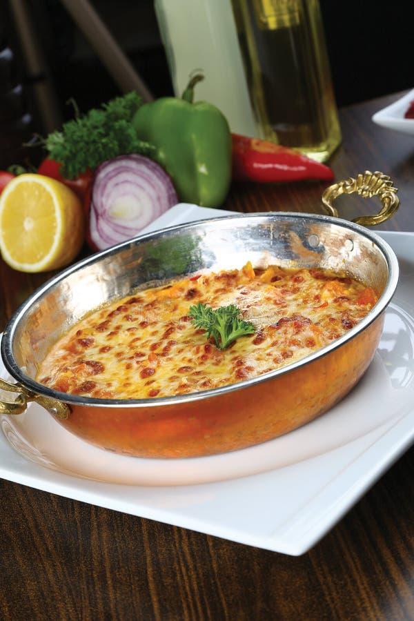 Download Omelett in der Wanne stockbild. Bild von gefüllt, kochen - 96928911
