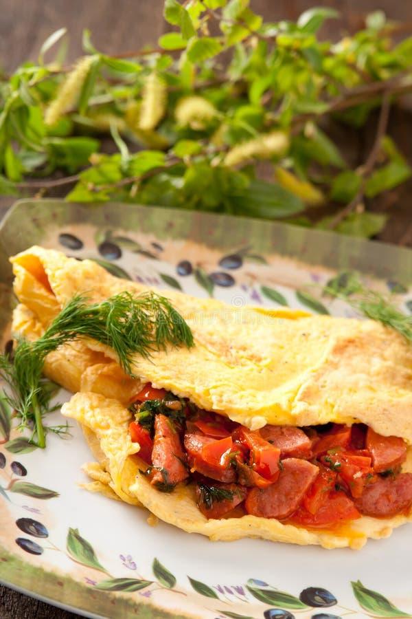Omelette immagini stock