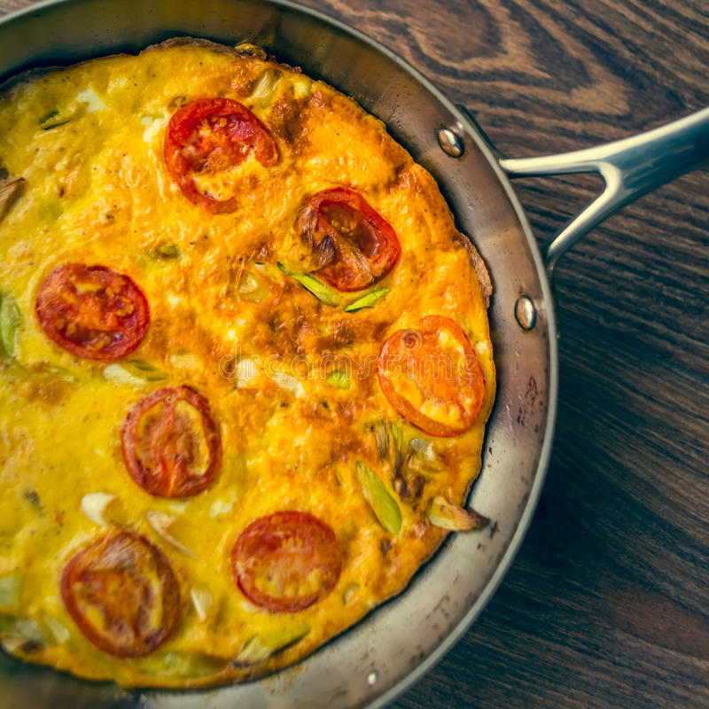 Omelette obraz royalty free