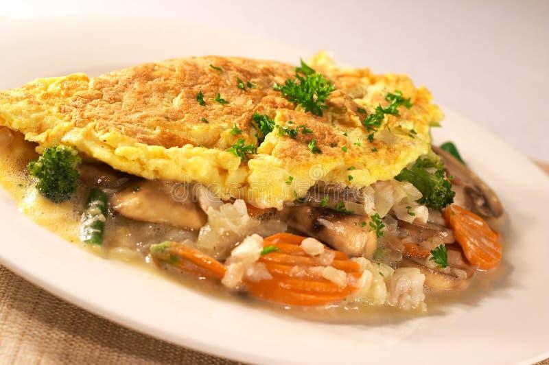 Omelette photos libres de droits