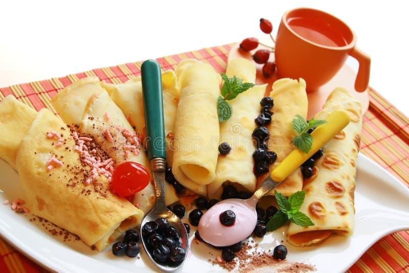 Omelette casalinga fotografie stock