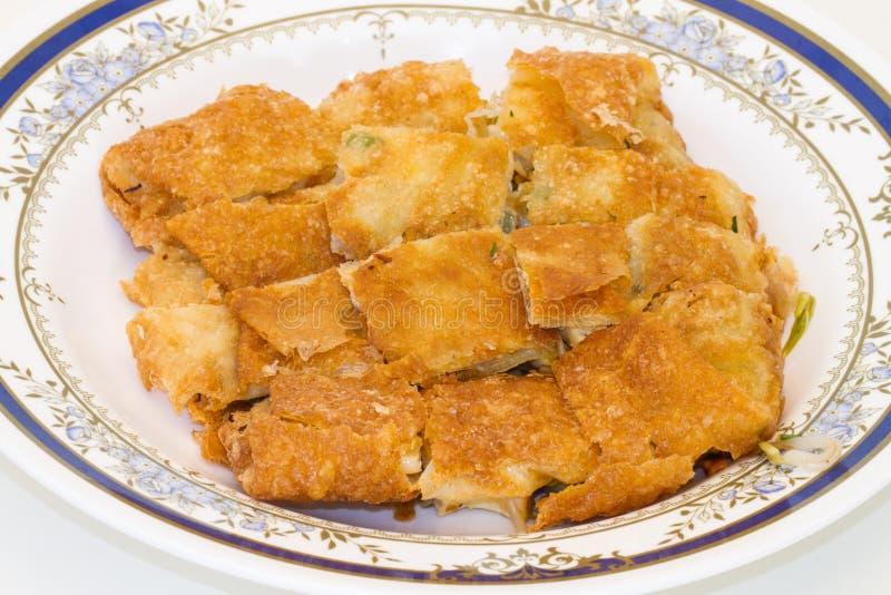 Omelette croccante farcita vietnamita fotografie stock libere da diritti