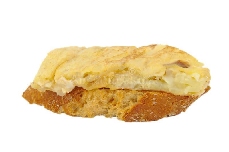 Omelette espagnole photos libres de droits