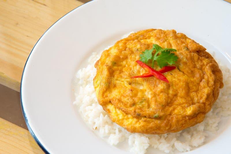 Omelette Tajlandzki styl zdjęcie royalty free