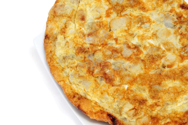 Omelette,tortilla de patatas royalty free stock photo