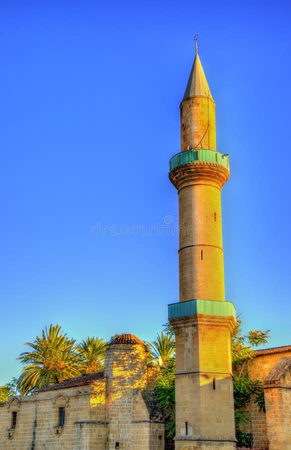Omeriye moské i Nicosia royaltyfri bild