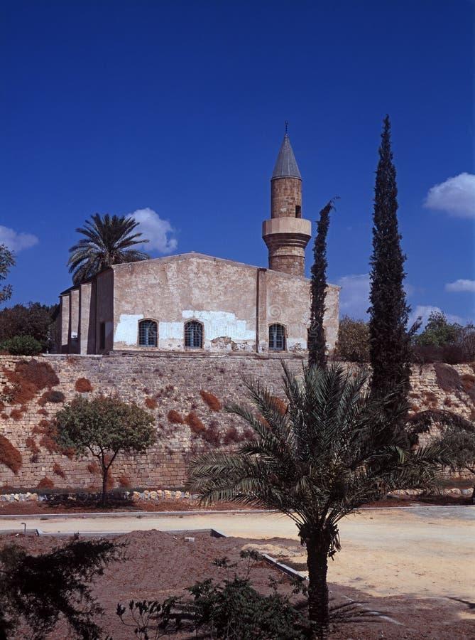 Omeriyeh Moschee stockfotos