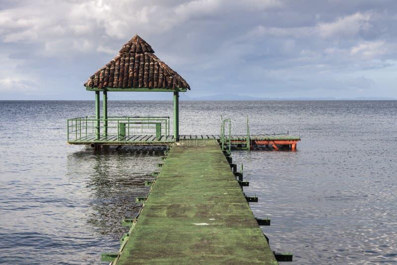 Ometepeeiland in Nicaragua stock afbeeldingen