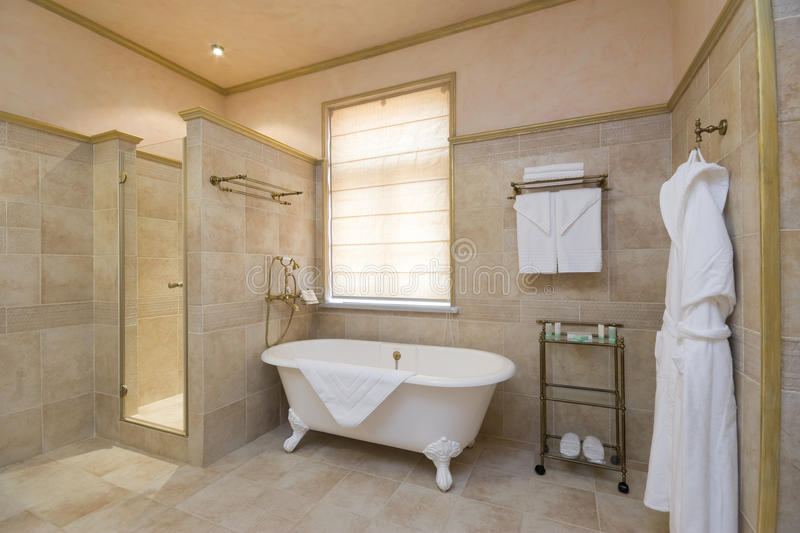 Download Сomfortable bathroom stock image. Image of wash, architecture - 13559987