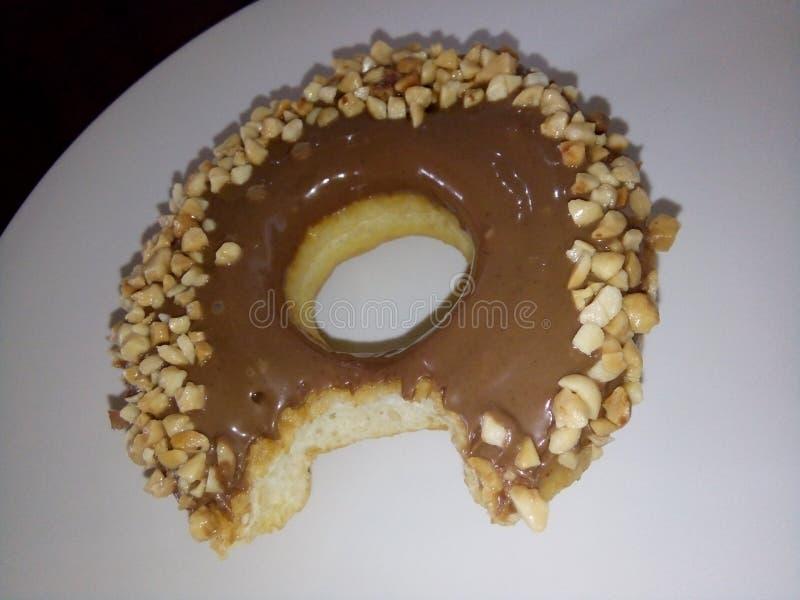 Omg它是donnut 免版税库存照片
