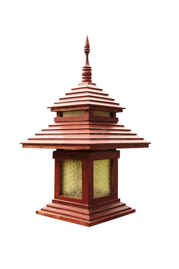Omheining Lamp royalty-vrije illustratie