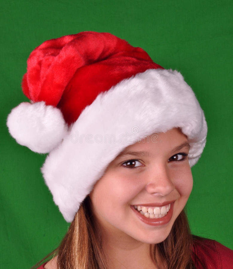 Omhoog gekleed voor Kerstmisvakantie royalty-vrije stock afbeeldingen