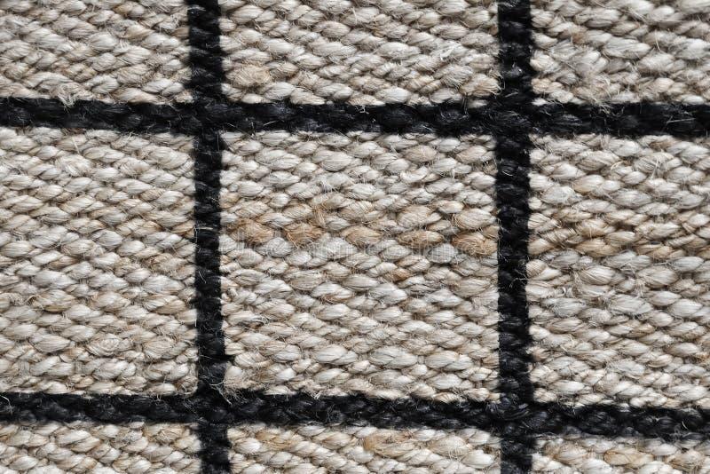 Omhoog gesloten van Betaald Patroon van de Textuur van het Mandweefsel stock afbeeldingen