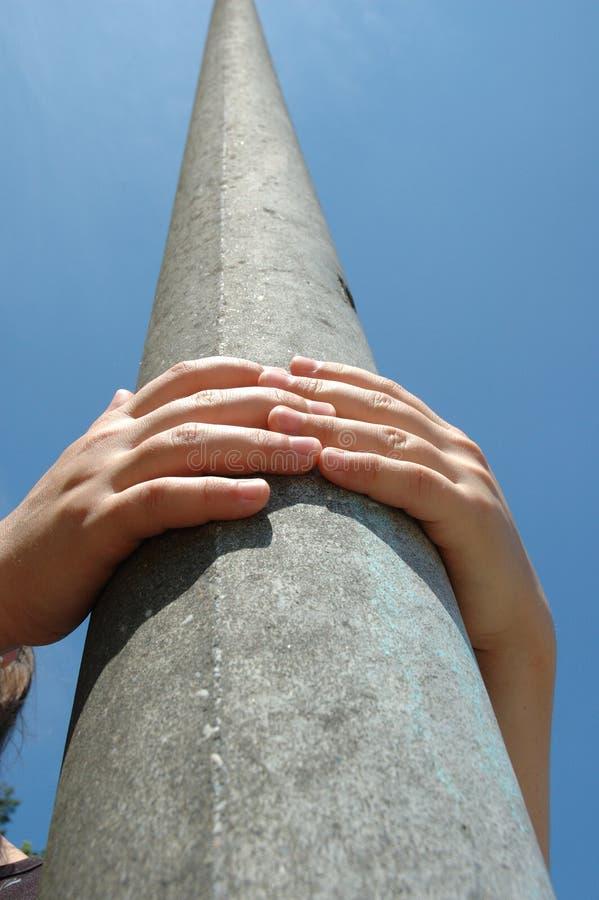 Omhoog Het Beklimmen Stock Foto's