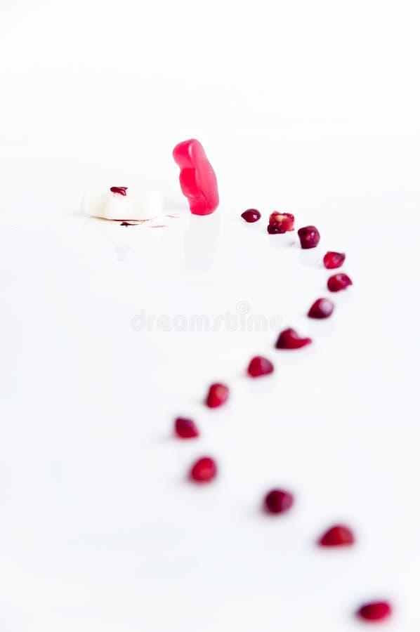Omicidio dolce fotografie stock
