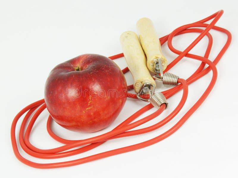 Omijać arkanę i jabłka zdjęcia royalty free