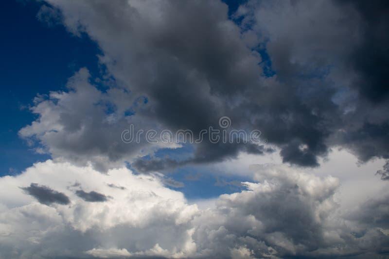 Ominous Clouds. Ominous Springtime Clouds - Minnesota USA stock photo