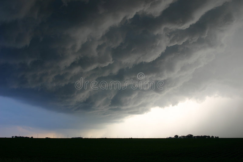 Ominous Clouds royalty free stock photography