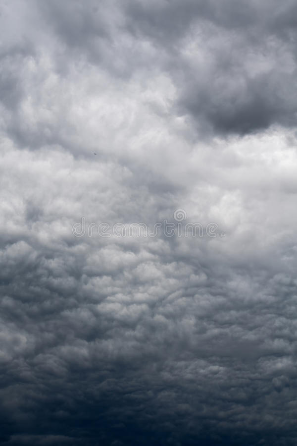 Ominous Grey Storm Clouds royalty free stock images