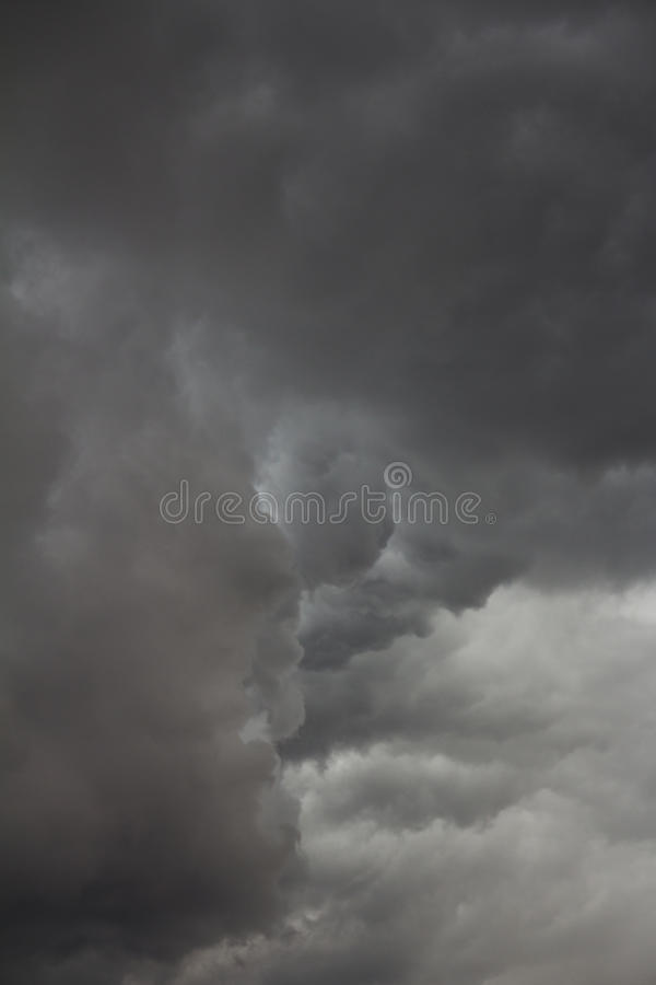 Ominous Storm Clouds royalty free stock photo