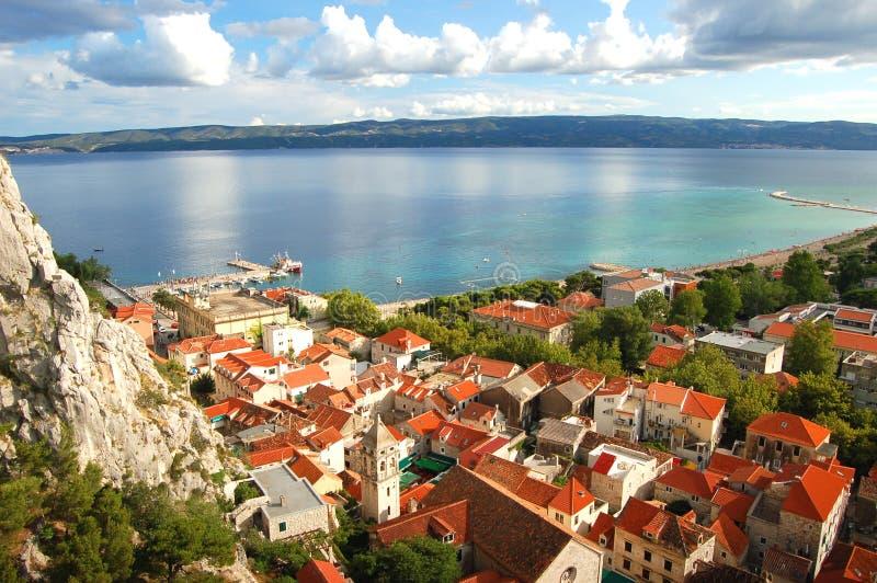 Omis, Croatia imagem de stock