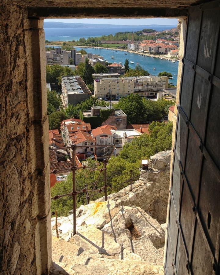 Omis, Croatia fotos de archivo libres de regalías