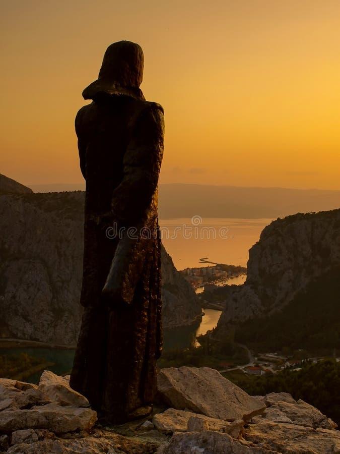 Omis-Croatia-Dalmatia 2 royalty free stock photos
