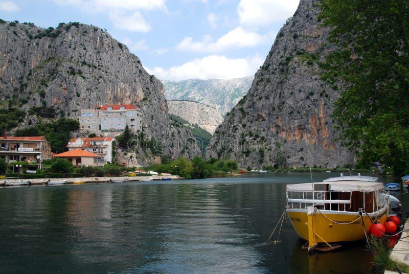 Omis in Kroatien lizenzfreie stockbilder
