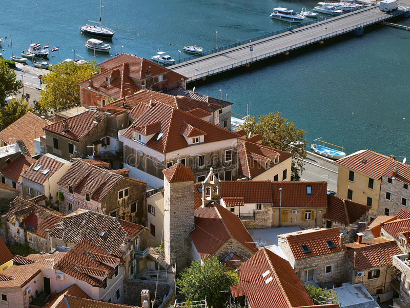 Download Omis (old town) 2 stock photo. Image of background, lagoon - 25103608