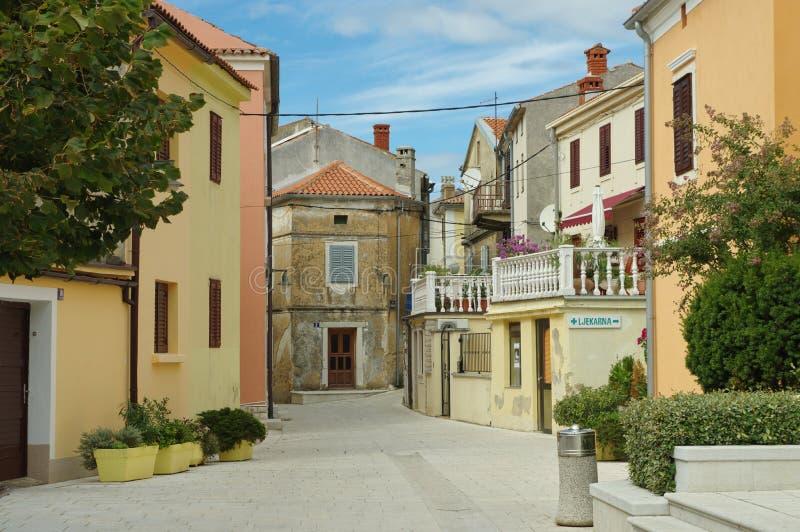 Omisalj, Croácia fotografia de stock royalty free