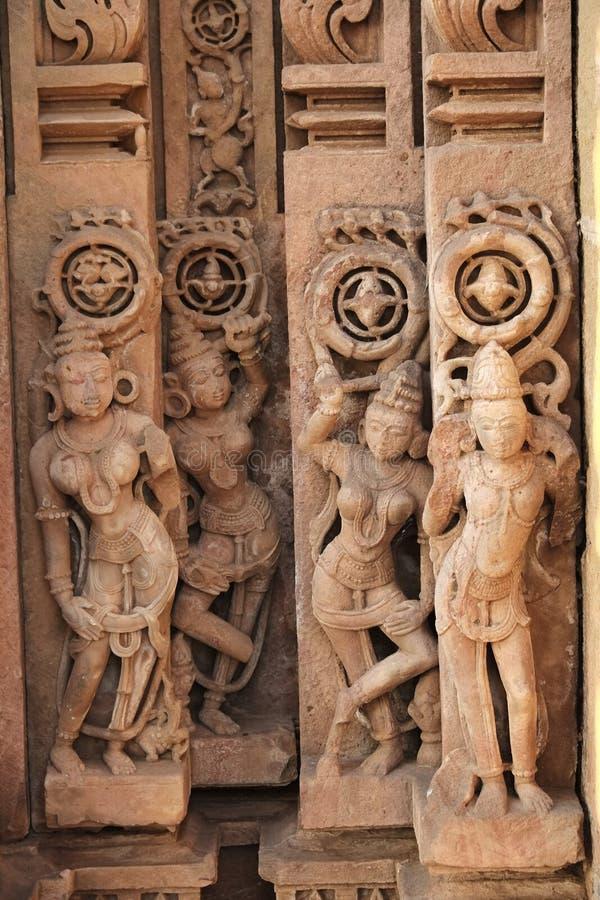 Omkareshwar sacred island. Siddhnath Baradwari Siddheshwar Temple, an ancient monument, Omkareshwar, Madhya Pradesh, India royalty free stock photos