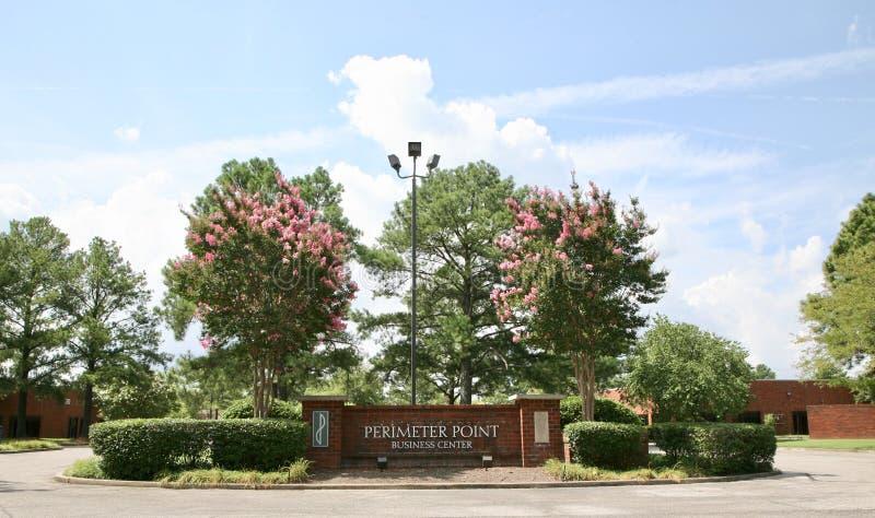 Omkretspunktaffären parkerar, Memphis TN royaltyfria bilder