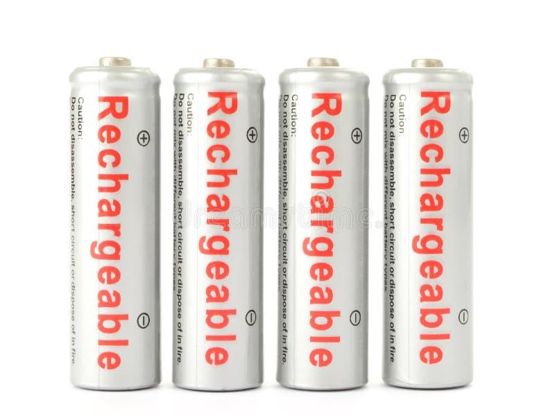 omladdningsbara batterier fotografering för bildbyråer