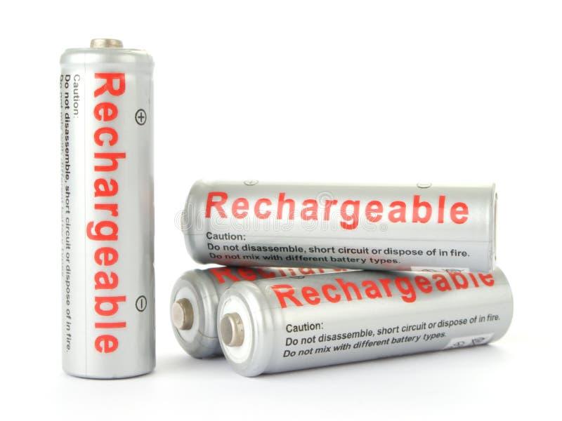 omladdningsbara batterier royaltyfria bilder