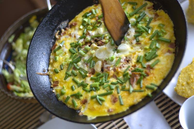 omlet obraz stock