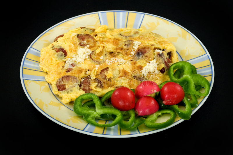 omlet zdjęcie royalty free