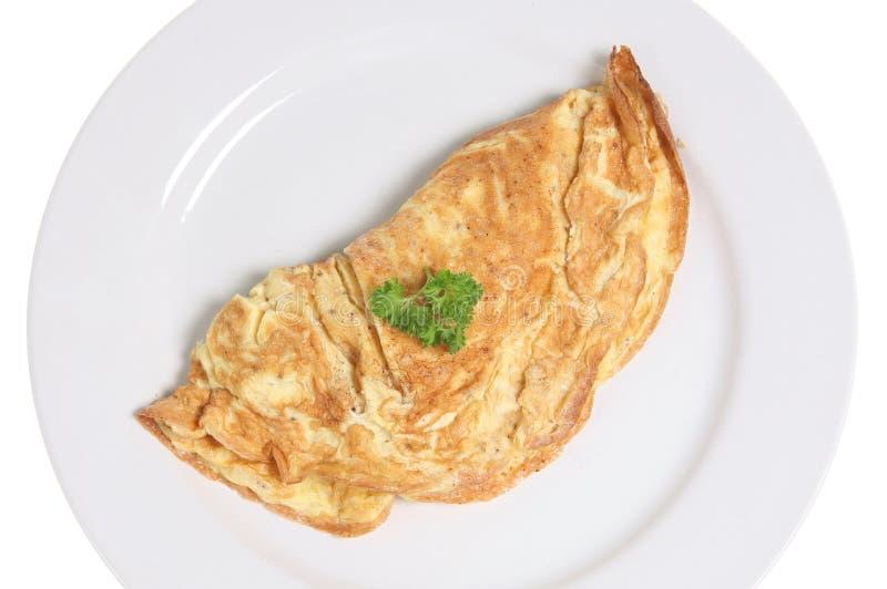 omlet serowy zdjęcie royalty free