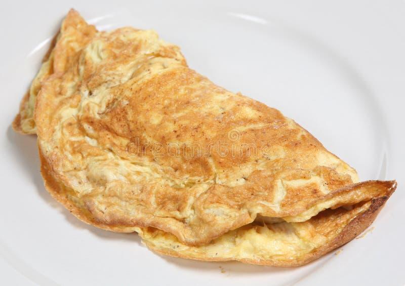 omlet serowy zdjęcie stock