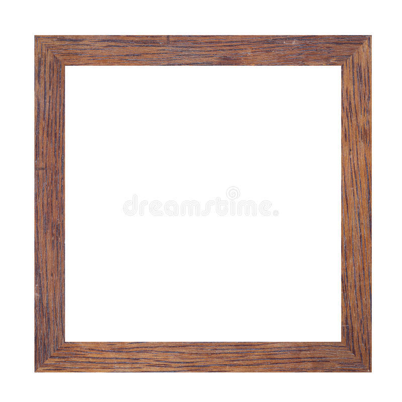 Omlijsting van stevig hout stock foto