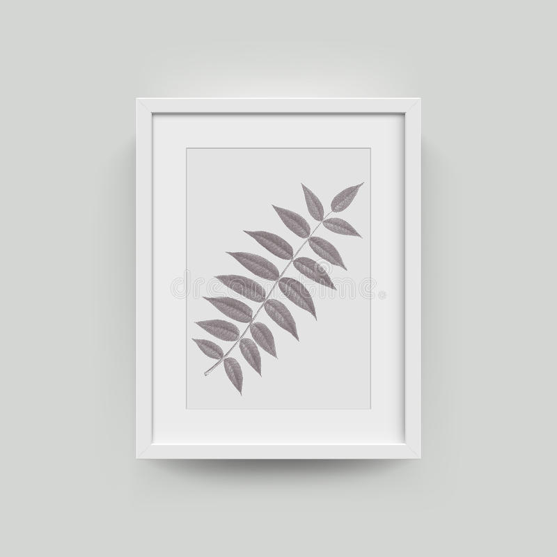Omlijsting voor foto's vector illustratie