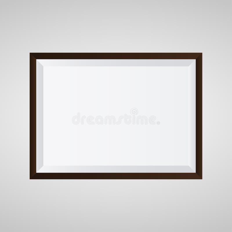 Omlijstingontwerp voor beeld of tekst Eps 10 vectorillustratie vector illustratie