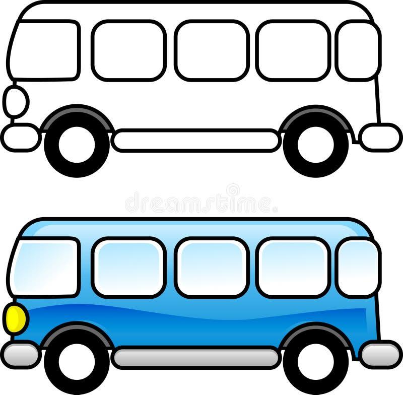 Omnibus stock de ilustración