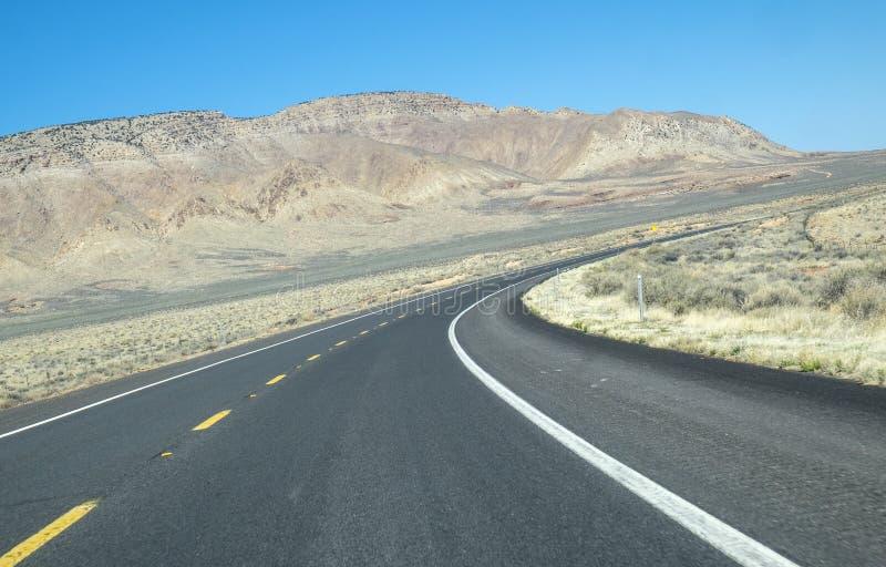 Omnibus dans le désert de l'Arizona images libres de droits