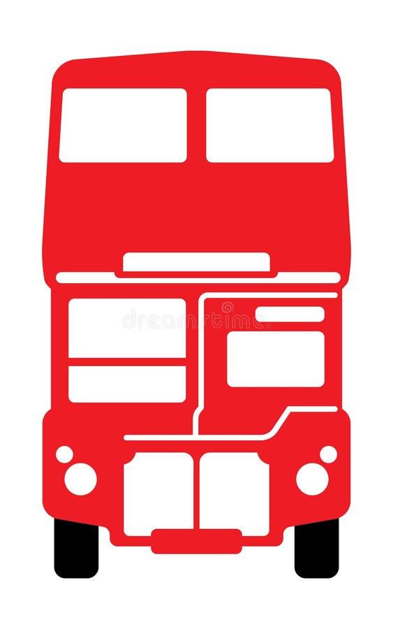 Omnibus de apilador doble de Londres libre illustration