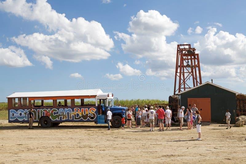 Omnibus dominicano foto de archivo