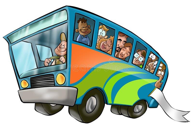 Omnibus grande libre illustration
