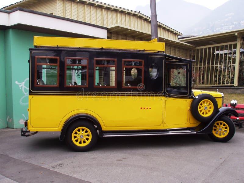 Omnibus retro fotos de archivo