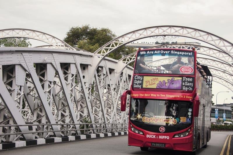 Omnibus turístico imagenes de archivo