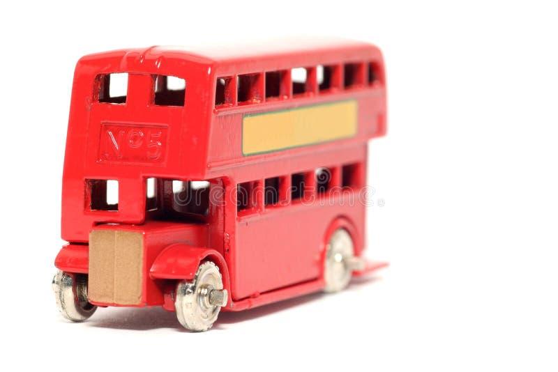 Autobús Viejo #2 De Londres Del Coche Del Juguete Fotos De Archivo
